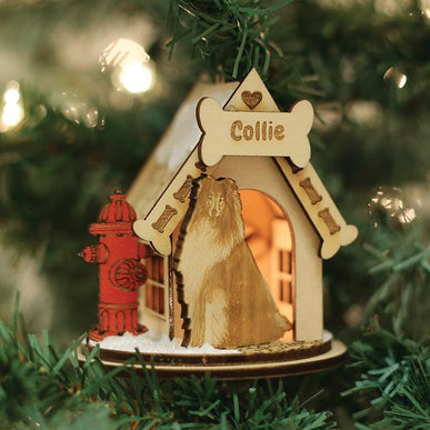Collie-K9116 Ornament