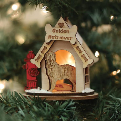 Golden Retriever-K9121 Ornament
