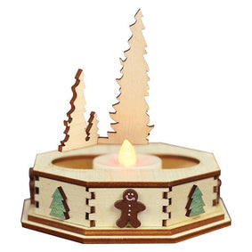 Tealight Display-Trees(Sm)-GCD105T