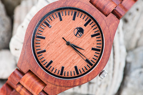 Sandalwood Watch Wood Band