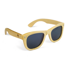 Real Solid Handmade Bamboo Wooden Sunglasses for Men, Polarized Lenses with Gift Box