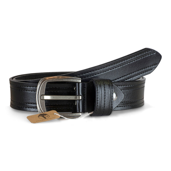 Men's Professional Double Stitched Genuine Leather Belt