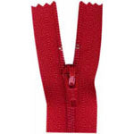 "Closed End Zipper - Hot Red - 18""(45cm) - 0045519"