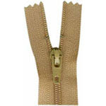 "Closed End Zipper - Camel - 18""(45cm) - 0045893"