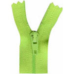 "Closed End Zipper - Party Green - 22""(55cm) - 0055535"