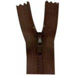 "Closed End Zipper - September Brown - 22""(55cm) - 0055570"
