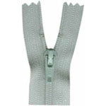"Closed End Zipper - Light Grey - 22""(55cm) - 0055574"
