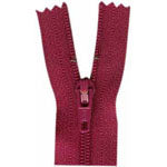 "Closed End Zipper - Magenta - 22""(55cm) - 0055853"