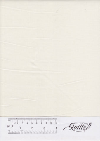 Cotton Supreme BroadCloth - Linen White
