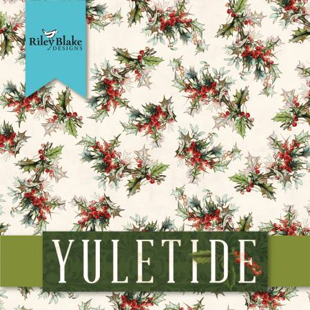 "Yuletide - layer cake - 42 pieces of 10"" squares - 10-9630-42"