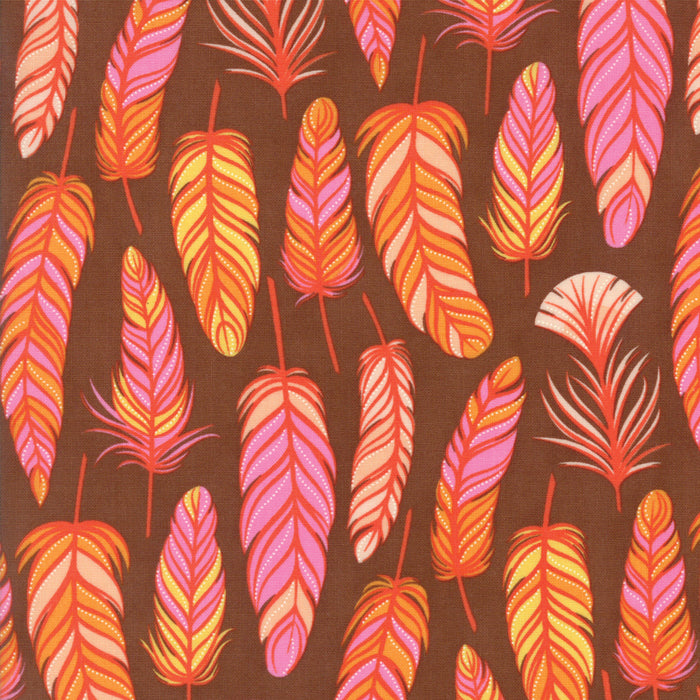 Wing and Leaf - Chestnut Feathers - 510063-19