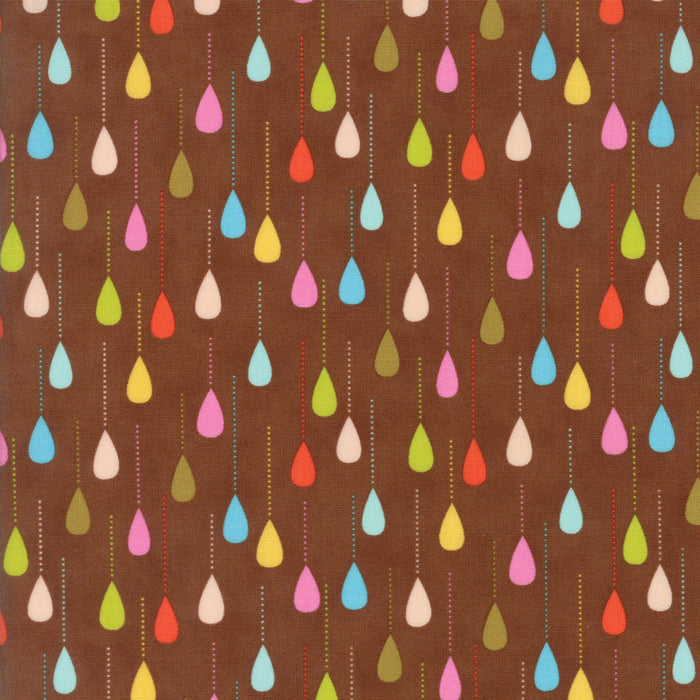 Wing and Leaf - Chestnut Raindrops - 510064-19