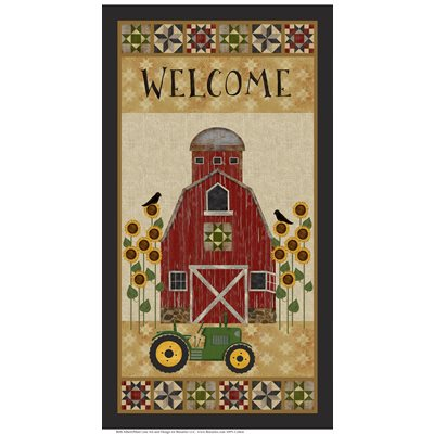 "Quilt Barn panel - Multi - 10188-99 - 24""(61cm)"