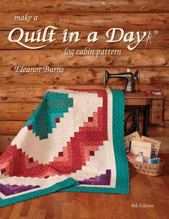 Make a Quilt in a Day - Log Cabin Pattern - 1094QD