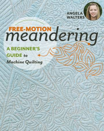 Free Motion Meandering - A Beginners Guide to Machine Quilting - 11242