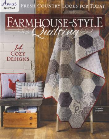Farmhouse Style Quilting pattern book - 141444