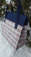 Farmer's Wife Tote Bag pattern Digital Download - Willow Creek Sewn