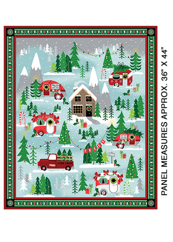 "Camp Joy panel - Joyful Journey - 17969-99 -36""(92cm)"