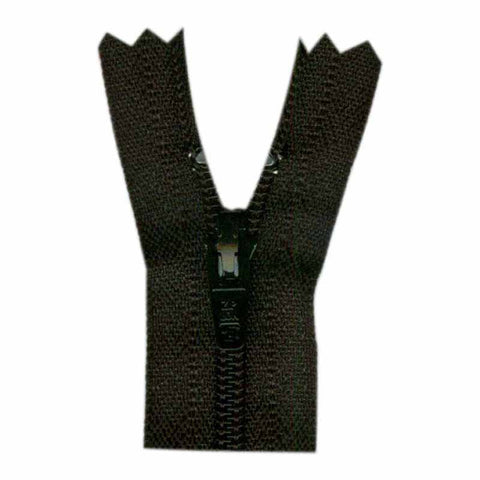 "Closed End Zipper - Black - 9""(23cm) - 0023580"