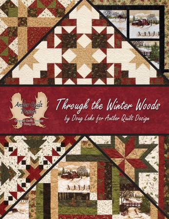 Through the Winter Woods pattern book - AQD 402