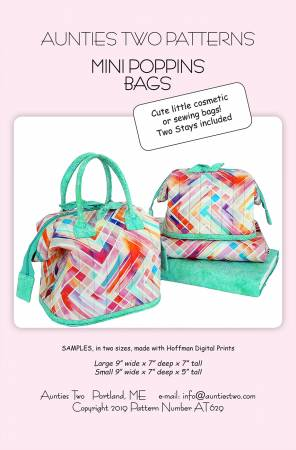 Mini Poppins Bags pattern - AT629