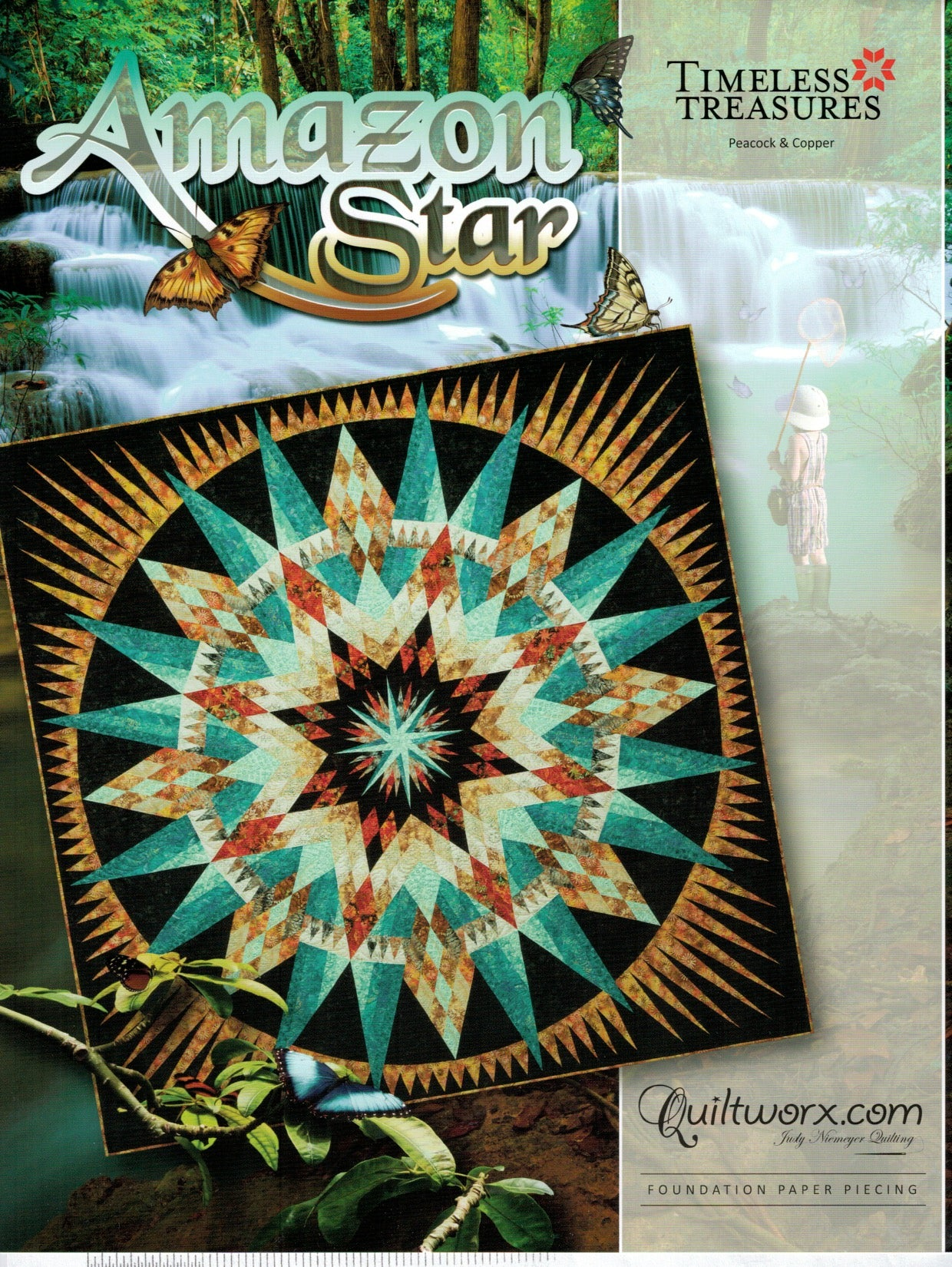 "Amazon Star Pattern 104""x104"""