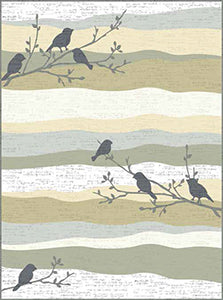 "Aria Songbirds Quilt Kit 40""x54"" Binding Included"