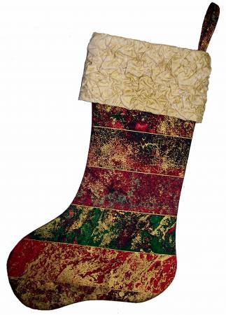 Fabric Magic Cuff Stocking pattern - CLPACV002
