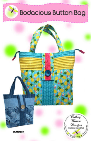 Bodacious Button Bag pattern - PTN 2595 - CMD132