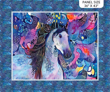 "Muse - Muse panel - Blue Multi - DP23195-46 - 36""(91cm)"