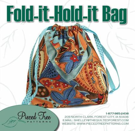 Fold-It Hold-It Bag Pattern - PTP 306