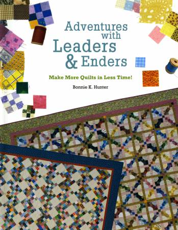 Adventures with Leaders and Enders pattern book - 16241
