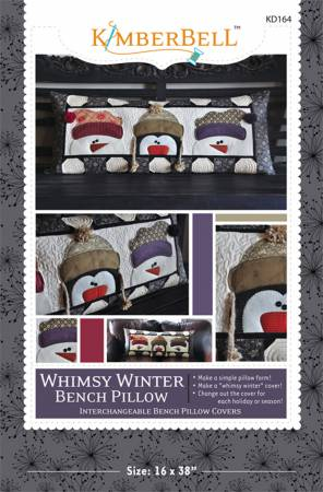 Whimsy Winter Bench Pillow Pattern - KD164