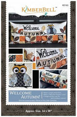 Welcome Autumn Bench Pillow Pattern KD183