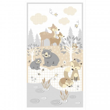 "Little Critters panel - 04291 PA - 22""(56cm)"