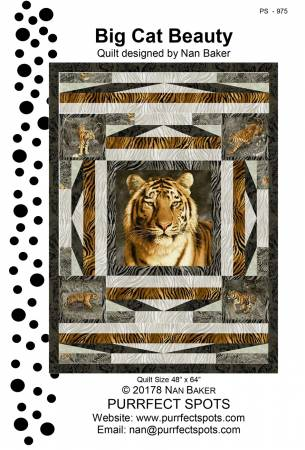 Big Cat pattern - PS-975