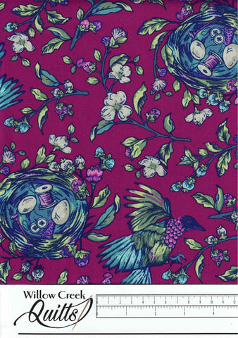 Stag and Thistle - Songstress - Fuchsia Multi - 23305-28