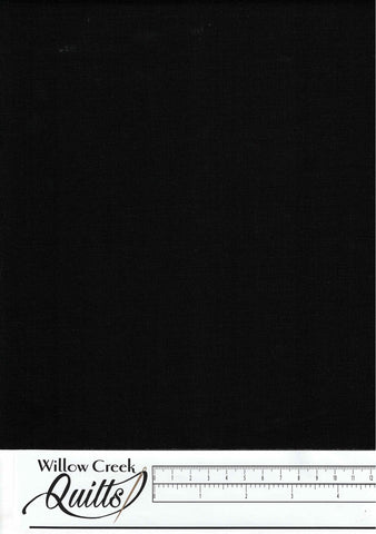 Essex Canvas - Black - E119 - 1019