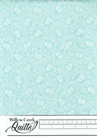 Stag and Thistle - Thistle Thicket - Light Turquoise - 23309-62