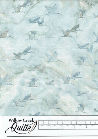 New Dawn - Birds - Blue - DP23925-42