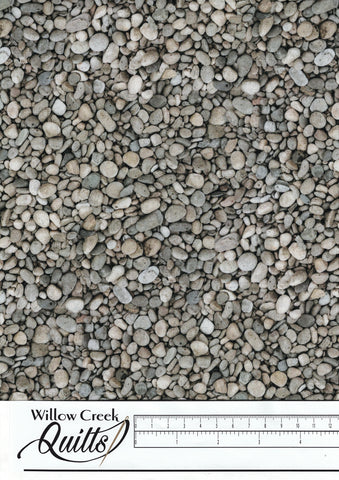 New Dawn - Pebbles - Gray - DP23926-94