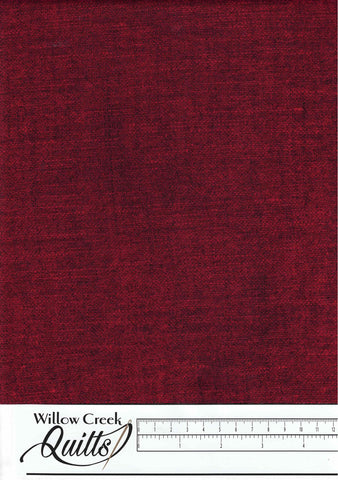 Vintage Christmas - Linen Texture - Red - 23553-24