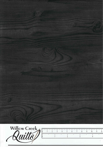 The Scarlet Feather - Wood Grain - Charcoal - 23480-96