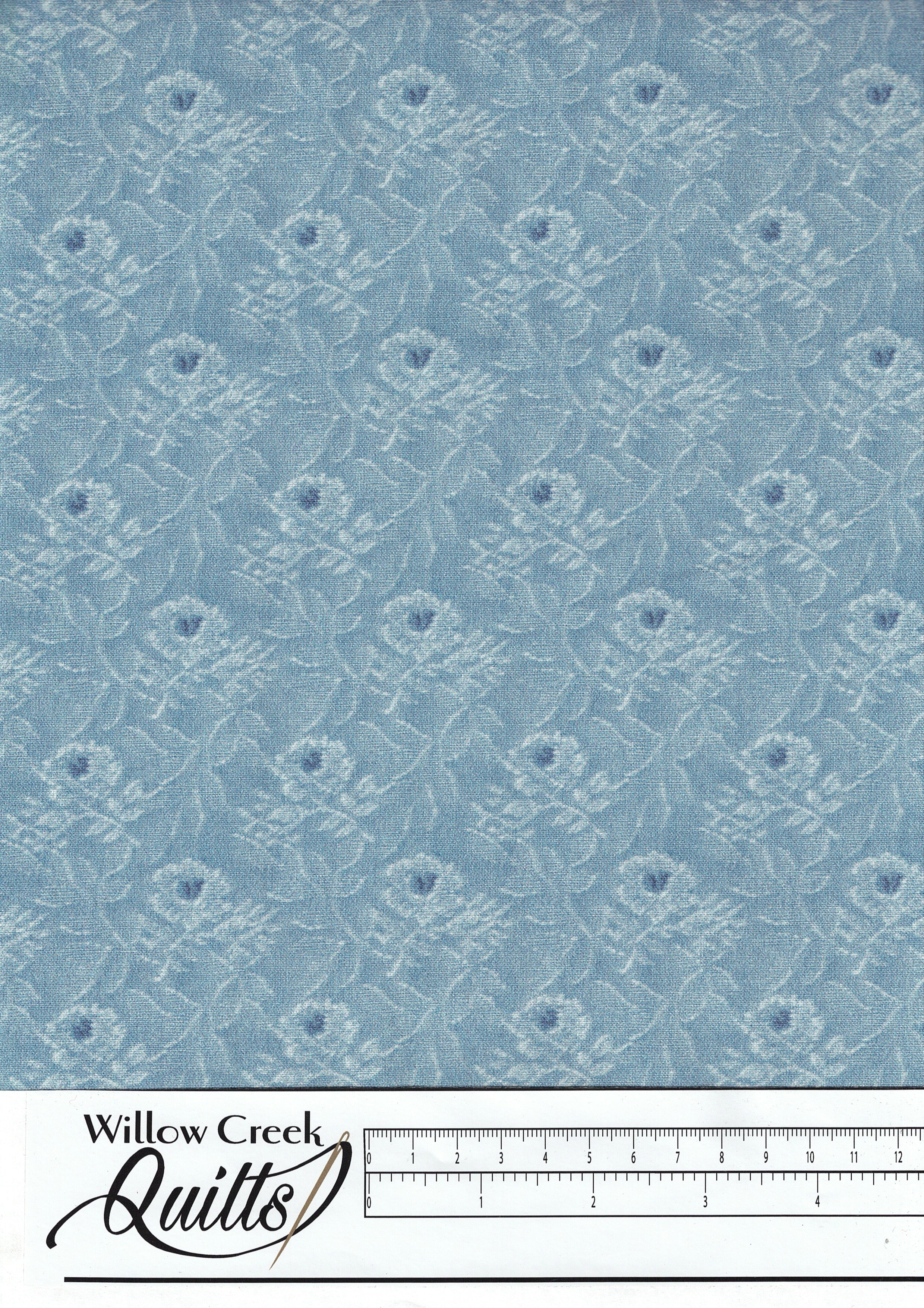 Delightful - Tapestry - Blue - C10253