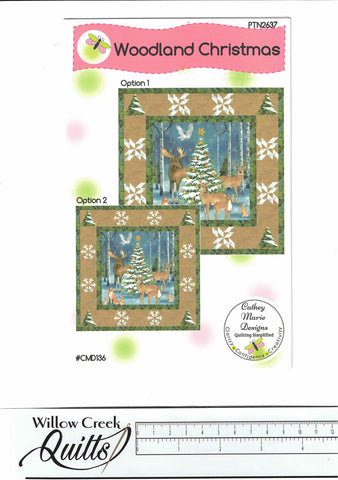 Woodland Christmas pattern - PTN2637