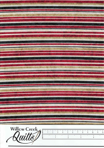 Oh Canada 8 - Plain Stripe - Red Multi - 23390-24