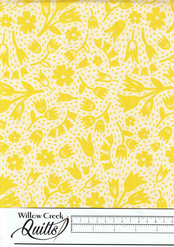 Squeeze - Floral - Yellow - 90300-50