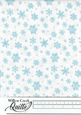 Christmas Woodland - Snowflake Blend - White - 23529-10