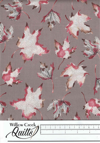 After The Rain - Leaves - Taupe - 90162-14