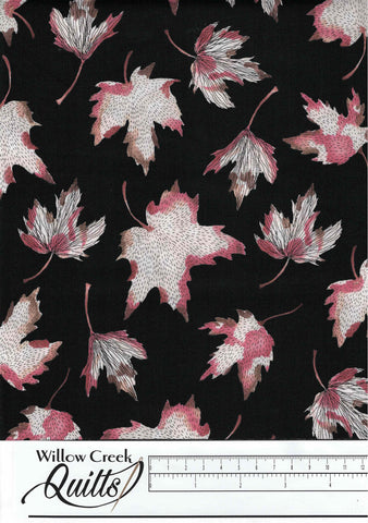 After The Rain - Leaves - Black - 90162-99